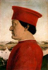Federico da Montefeltro P. Della Francesca