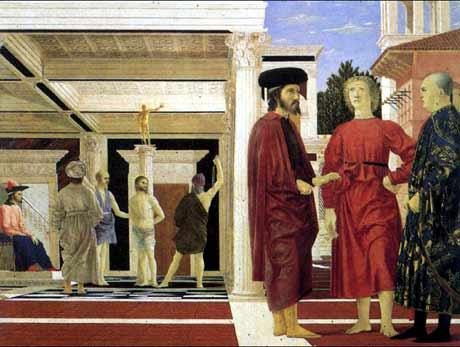 La flagellazione - Piero della Francesca